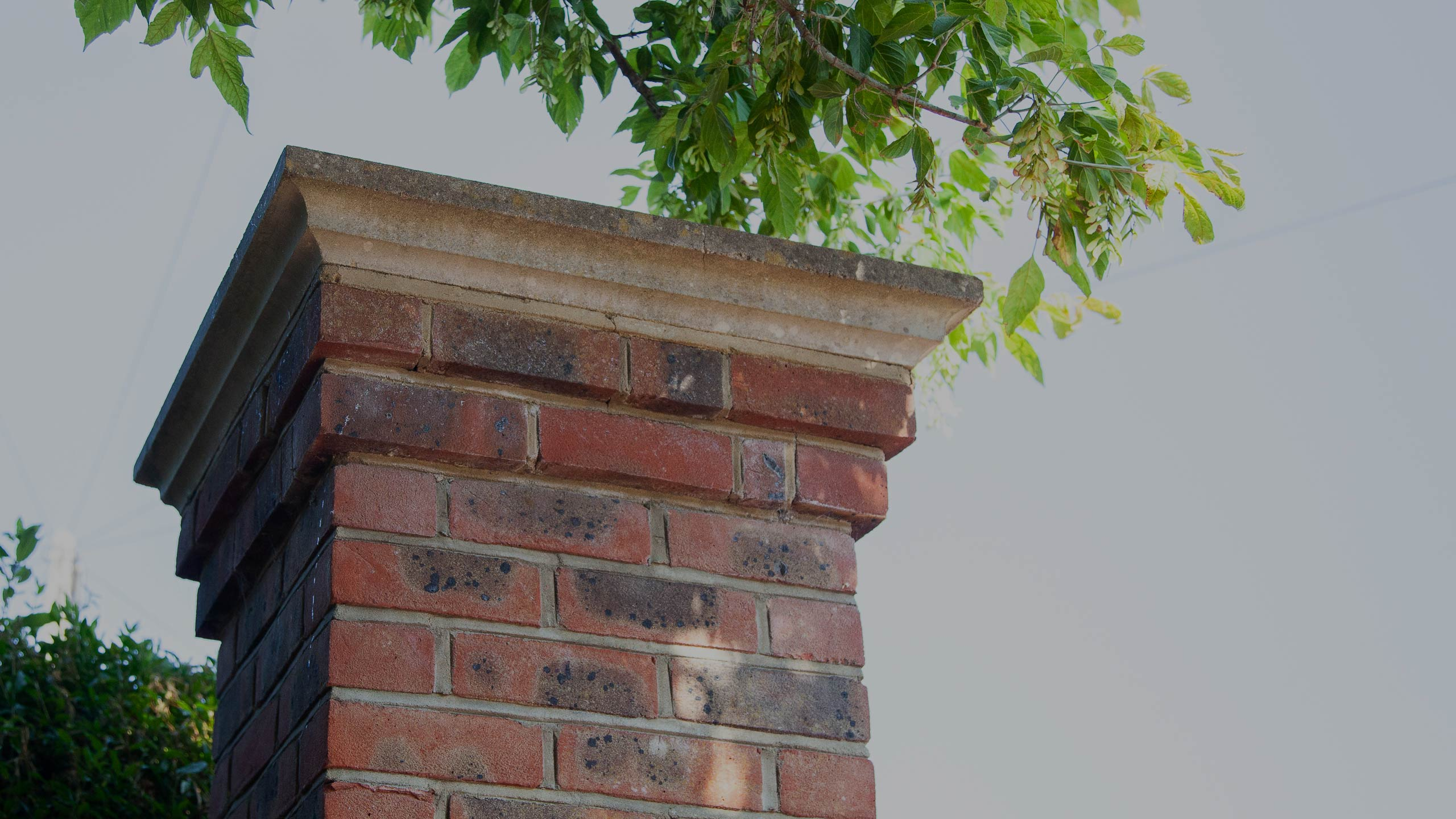 top of a chimney - property repairs and building work by RJ Steeles building contractors