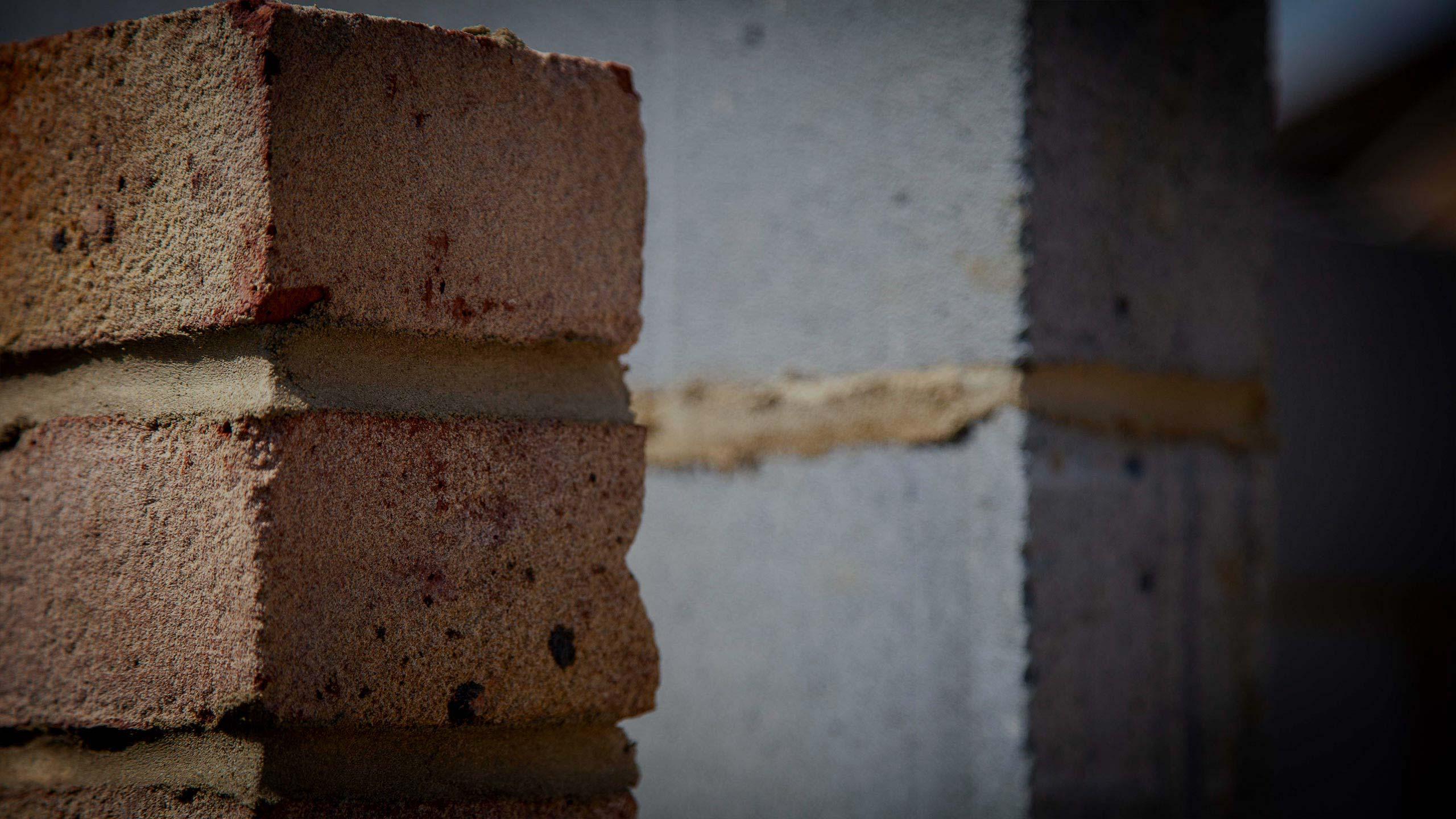 brick wall and block work - building work by RJ Steeles builders in Sussex