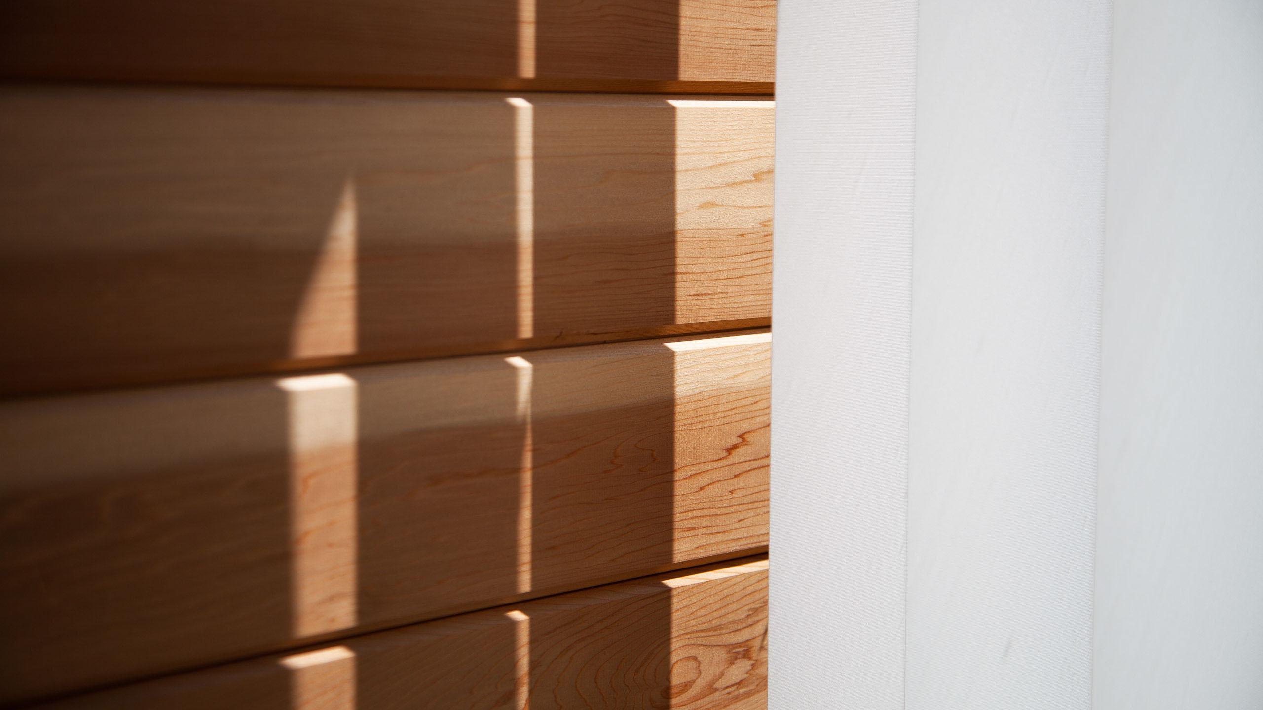 wood panelling - building work by RJ Steele builders in Sussex