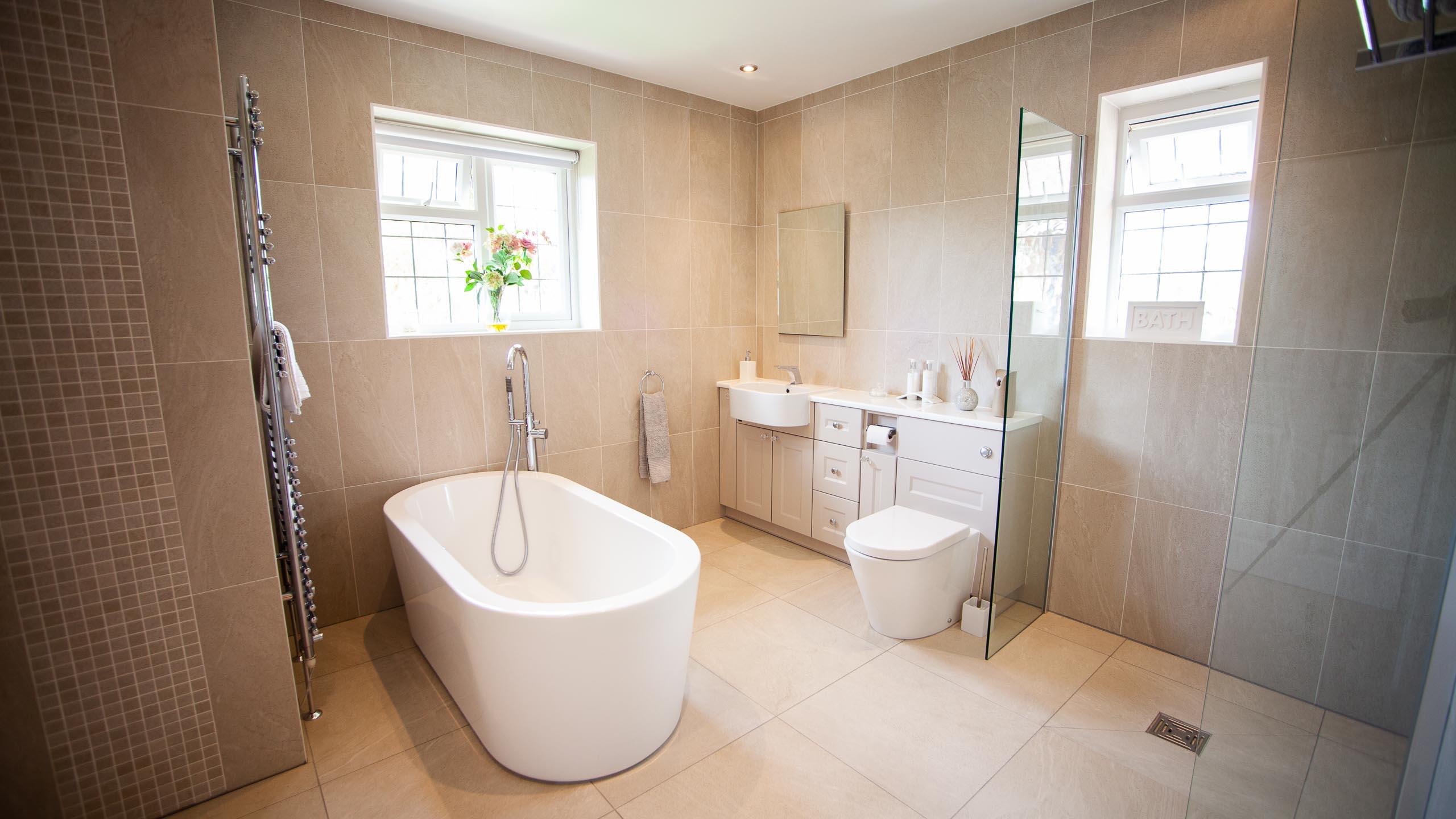 modern bathroom - bathroom installation by RJ Steele bathroom installers