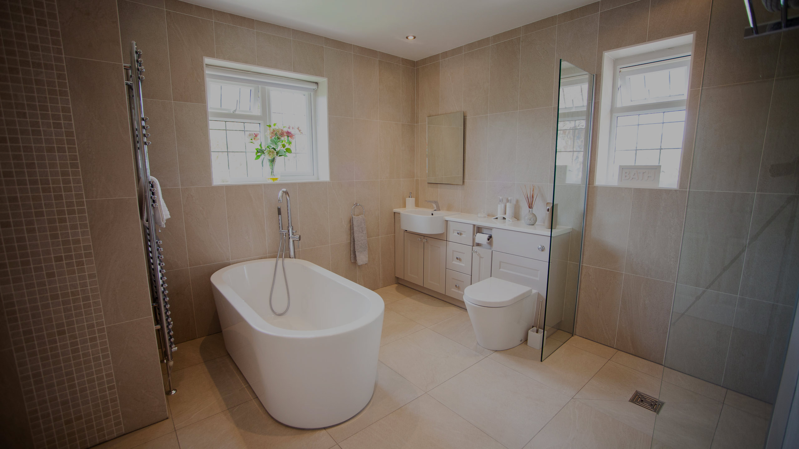 Withdean Avenue - bathroom installation by RJ Steele building contractors